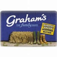 Grahams Slightly Salted butter