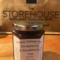 Strawberry and Gooseberry Jam