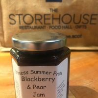 Blackberry and Pear Jam