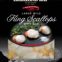 Large Wild King Scallops
