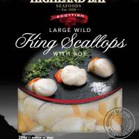 Large Wild King Scallops