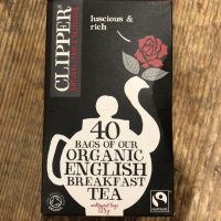 Organic English Breakfast tea (40)