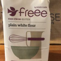Doves Farm plain white flour (GF)