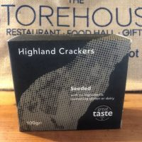 Highland Crackers seeded crackers
