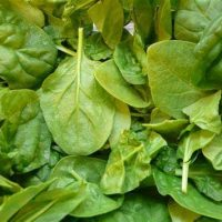 Bag of fresh spinach 200g