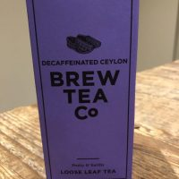 Brew Tea Co Decaffeinated Ceylon Loose Leaf tea