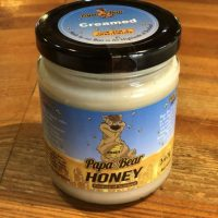 Papa Bear's creamed honey