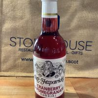 Cranberry and Pomegranate Cordial