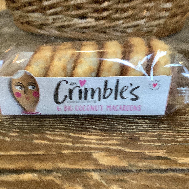 Mrs Crimbles Big Coconut Macaroons