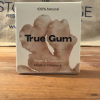 True Gum with ginger and tumeric