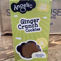 Angelic Ginger crunch cookies