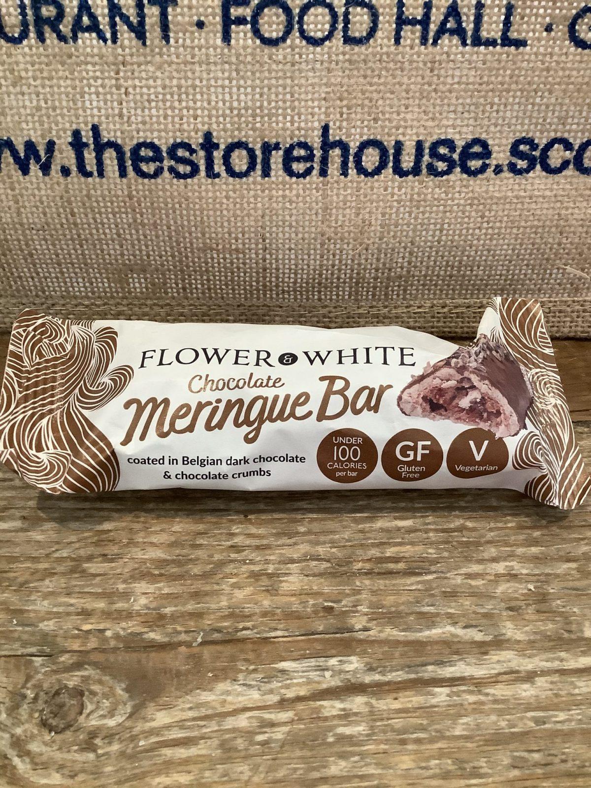 Chocolate Meringue Bar