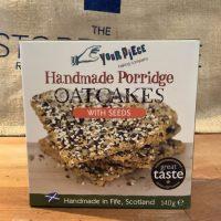 Your Piece Porridge Oatcakes with seeds