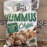 Eat Real Sour Cream and Chives Hummus Chips