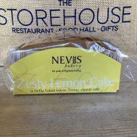 Nevis Bakery Zesty lemon cake