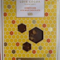 Love Cocoa Honeycomb Milk Chocolate bar