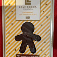 Love Cocoa Gingerbread Dark Chocolate