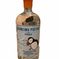 Dancing Puffin Vodka from Badachro