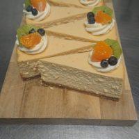 New York style baked Vanilla Cheesecake