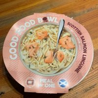 Good Food Bowl Scottish Salmon Linguine