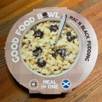 Good Food Bowl Mac n Black Pudding