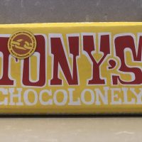 Tony Chocolonely Fairtrade Milk Chocolate with almond honey nougat