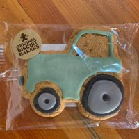Iced Gingerbread Tom Tractor
