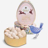 Charbonnel et Walker Pink Marc de Champagne Truffle Eggs
