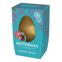 Buttermilk Caramel Sea Salt Easter Egg (Vegan)