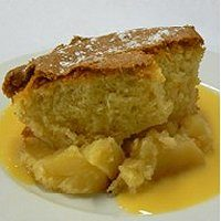 Eve's Pudding with custard (for Saturday 27th March)